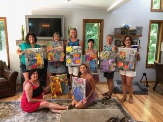 Sip n Paint July 9