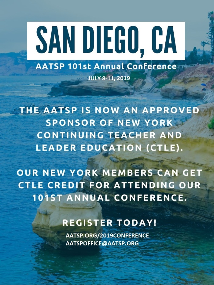 Dated AATSP Conference and CTLE